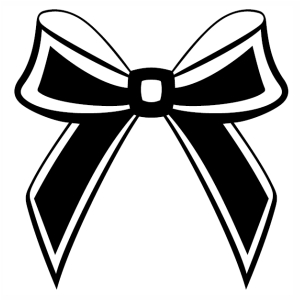 Bow ribbon svg cut file