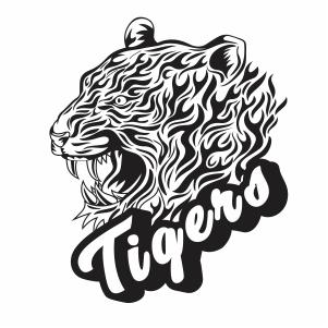 Wild Tiger Vector