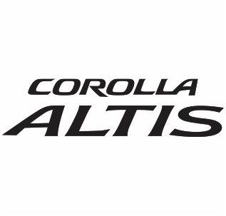Toyota Corolla Altis Logo Svg