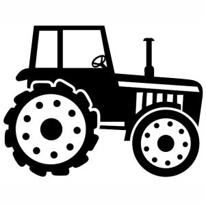 Farm Tractor svg cut file