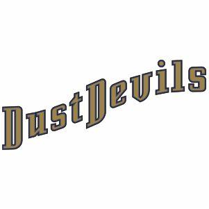 Tri City Dust Devils Wordmark Logo Vector