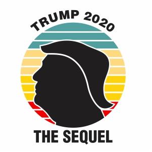 Trump 2020 The Sequel Vector
