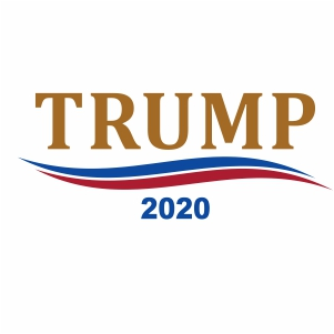 Trump 2020 Logo Svg Trump 2020 Svg Svg Dxf Eps Pdf Png Cricut Silhouette Cutting File Vector Clipart