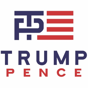 Donald Trump Pence Svg File Trump Pence Logo Svg Cut File Download Trump Pence Jpg Png Svg Cdr Ai Pdf Eps