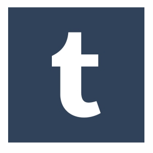 Tumblr t icon logo svg