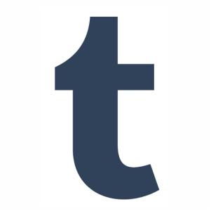 Logo of Tumblr t svg