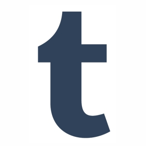 Logo of Tumblr T vector