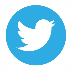 Twitter Circle Logo vector