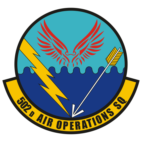 502nd Air Operations Squadron Logo Svg