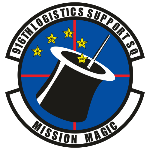 916th Logistics Support Squadron Svg