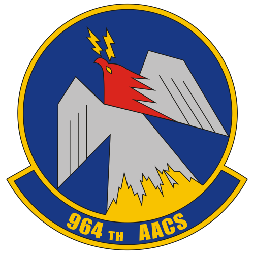 964th Airborne Air Control Squadron Svg