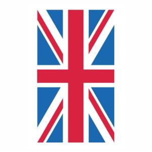 Union Jack flag svg cut file