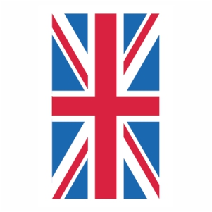 Union Jack flag Logo Vector design