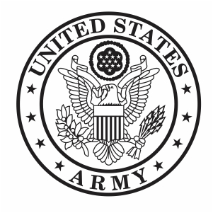 United States Army Crest svg