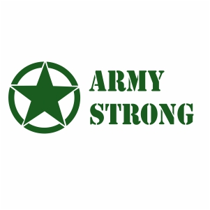 Army Strong Svg