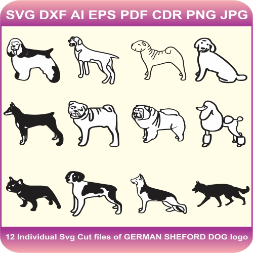 dogs pack design
