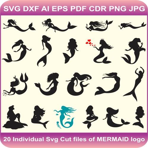 mermaid design pack