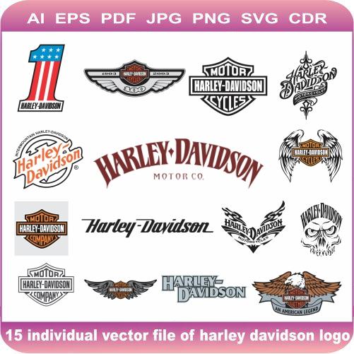 harley davidson pack logo