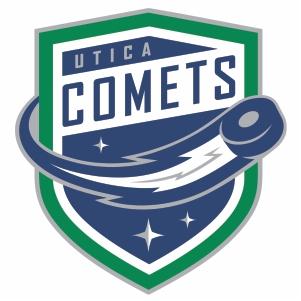 Utica Comets Logo Vector File