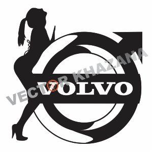 Volvo Car Logo Vector