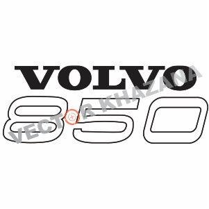 Volvo 850 Logo Vector