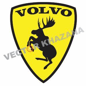 Volvo Prancing Moose Logo Vector