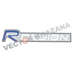 Volvo R Design Logo Vector