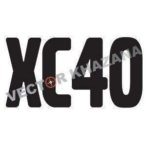 Volvo XC40 Logo Vector