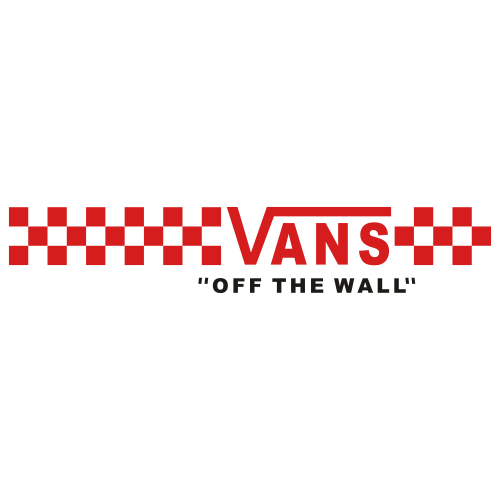 Vans of The Wall Red Svg