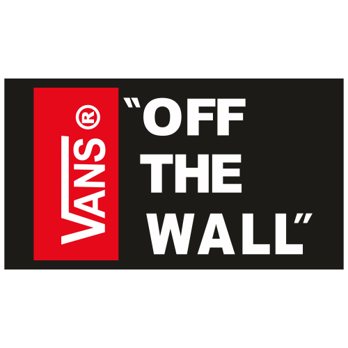 Vans of The Wall svg logo