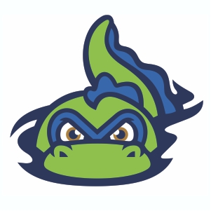 Vermont Lake Monsters Logos Vector Download