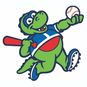 Vermont Lake Monsters Logo Cut