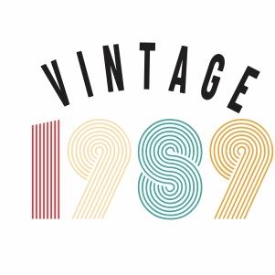 Vintage 1979 vector
