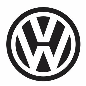 Volkswagen Logo Clipart