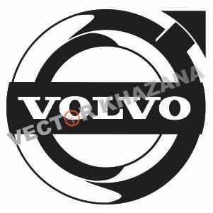 Volvo 4 Decal Logo Svg