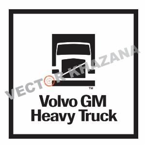 Volvo GM Heavy Truck Logo Svg