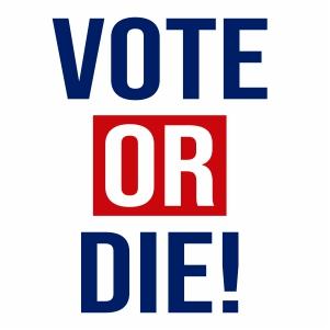 Vote Or Die Vector