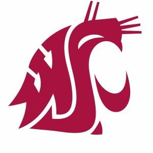 Washington State Cougars Logo Vector