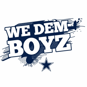 We Dem Boyz Cowboys Vector We Dem Boyz Vector Image Svg Psd Png Eps Ai Format Dallas Cowboys Vector