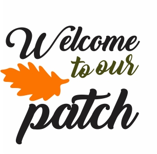 Welcome To Our Patch Clipart