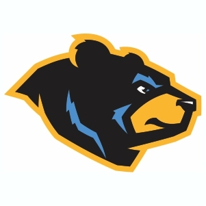 West Virginia Black Bears Logo Svg