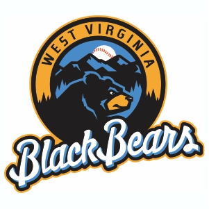 West Virginia Black Bears Logo Vector Files