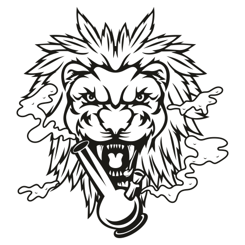 Lion Head Roaring Svg