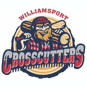 Williamsport Crosscutters Cut Logo