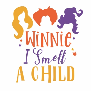 Winnie I Smell a Child Svg