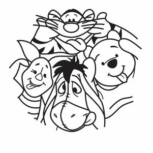 Winnie The Pooh Vector