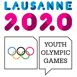 Winter Youth Olympics logo 2020 svg cut