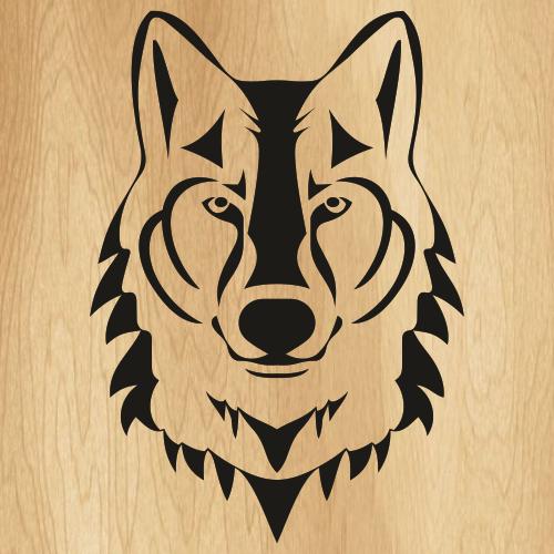 Wolf Head Svg