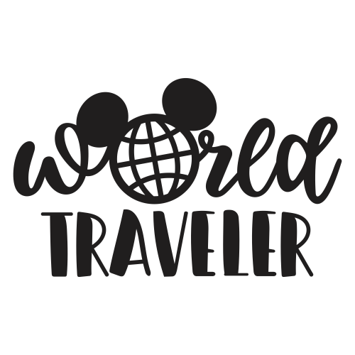 World Traveler Svg