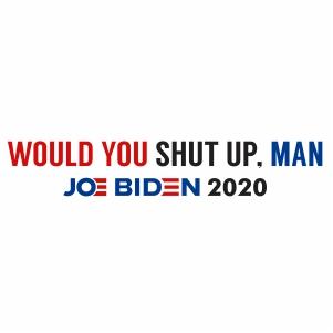Would you Shut Up Man Vector